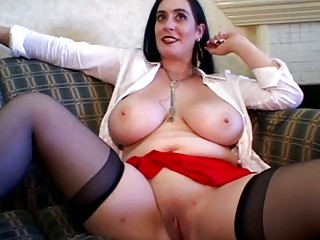 glamorous breasty aged group-sex