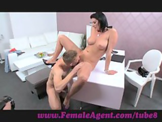 femaleagent. double ejaculation surprise for d