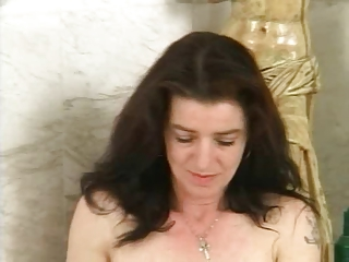 hairy mature with unshaved pussy