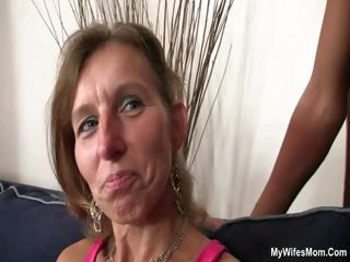 daughter watches hubby fuck her old mommy