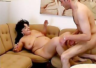 fat aged mamma receives her moist fur pie part3