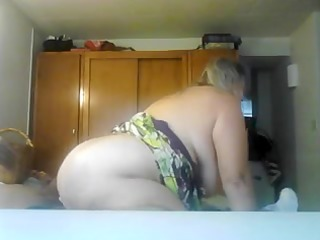 breasty older gf copulates cowgirl style