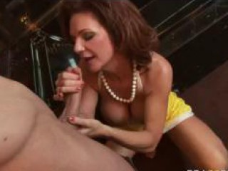 large titted mamma punishes her nasty daughter