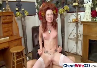 sexy horny cheating wife acquire hardcore sex