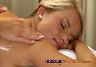 massage rooms busty older woman oiled by juvenile