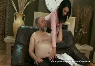 bulky aged chap fuck his trophy wife