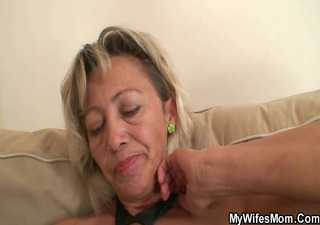 she is finds out her chap cheats with her mom