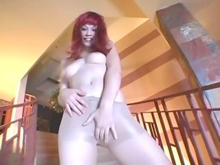 toe engulfing hose masturbation