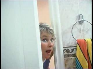 Mom Spying On Son Will He Was In Shower Than She