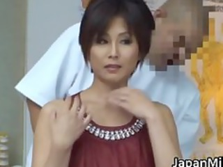 Asian milf has massage and fucking part1