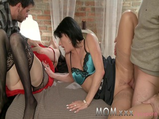 mom older swingers take turns