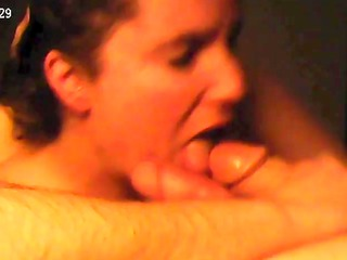 very valuable real non-professional cumshot
