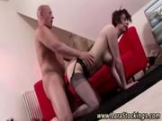 high heeled older slut sticky ejaculation