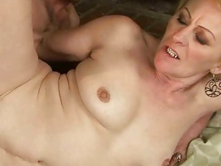 granny enjoys wicked sex with a boy