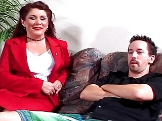 hawt milf acquires pounded by sons d...