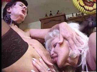 drunk granny lesbians in a heat
