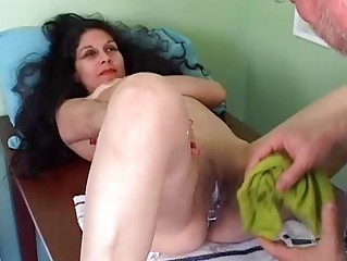 pretty aged lalin girl acquires her pussy shaved