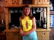 fit aged swinger copulates her wet cookie