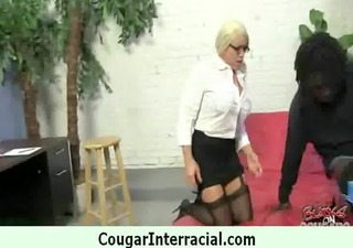 cougar pounce on black dick 7